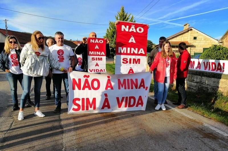 Vigília contra a mina de lítio marcada para sábado em Montalegre