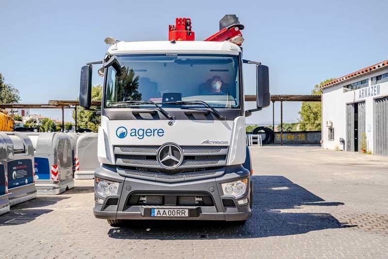 Implementado sistema de gestão de frotas na Agere