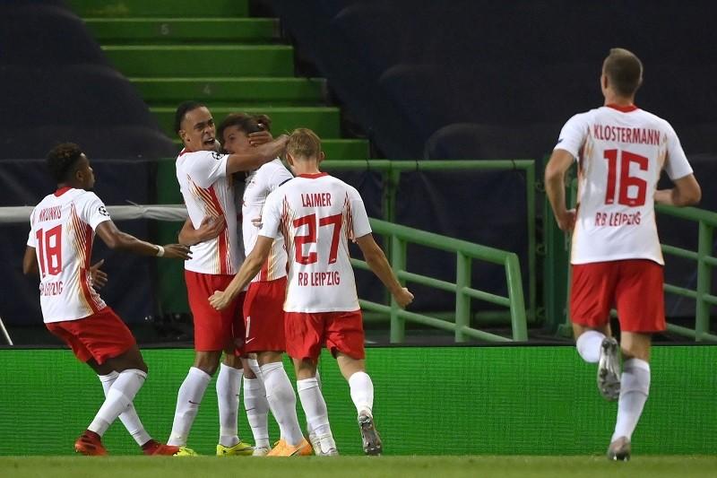 Leipzig vence Atlético de Madrid e está nas meias-finais da Liga dos Campeões