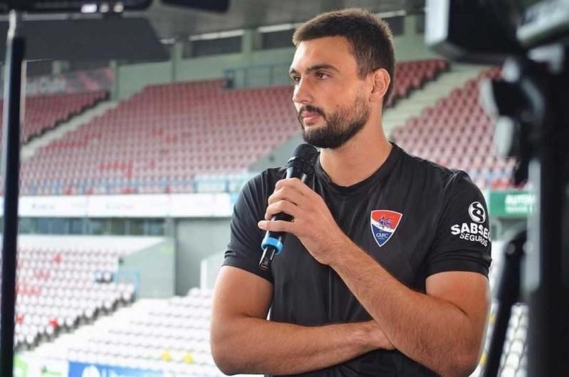 Guarda-redes Daniel Fuzato chega ao Gil Vicente por empréstimo da Roma