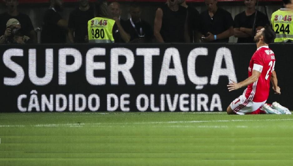 Supertaça: Benfica goleia Sporting e conquista oitavo título