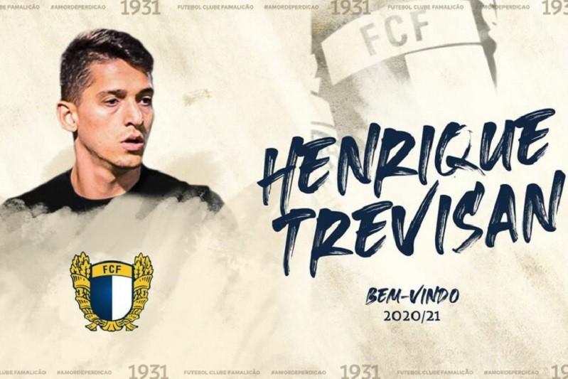 Famalicão anuncia contratação de Henrique Trevisan