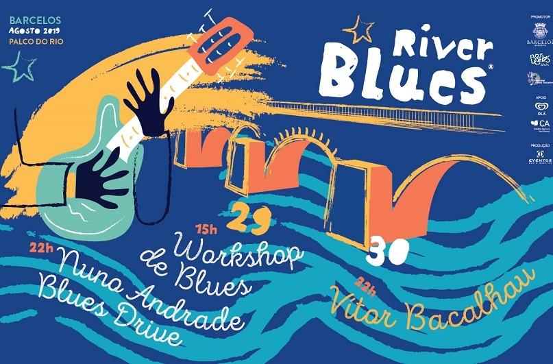 BARCELOS: Festival de blues com Nuno Andrade e Vítor Bacalhau