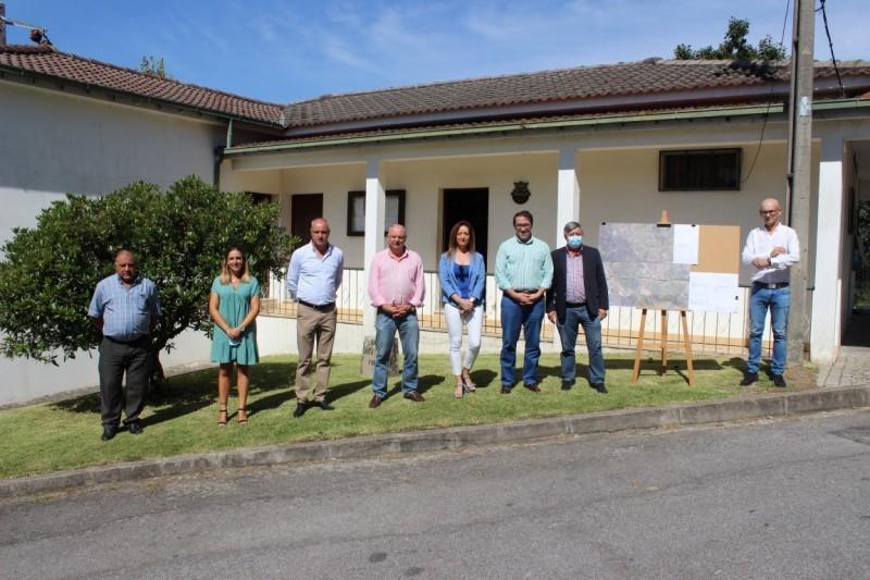 Rede viária requalificada na freguesia de Serdedelo
