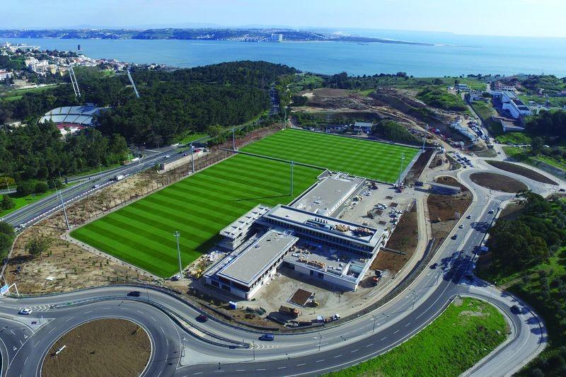 Portugal treina e 'dorme' na Cidade do Futebol na preparação para a Croácia