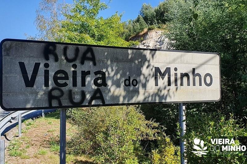 Câmara de Vieira do Minho apresenta queixa na GNR por atos de vandalismo