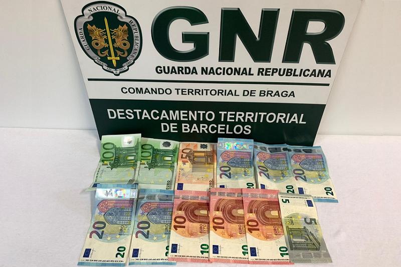 VILA DO CONDE: GNR deteve suspeitos de burlas com trocos
