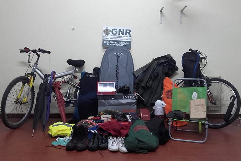 CAMINHA: GNR indicia alegado responsável por vaga de furtos em zona balnear