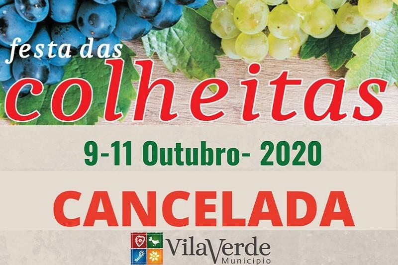 VILA VERDE: Câmara cancela Festa das Colheitas marcada para outubro