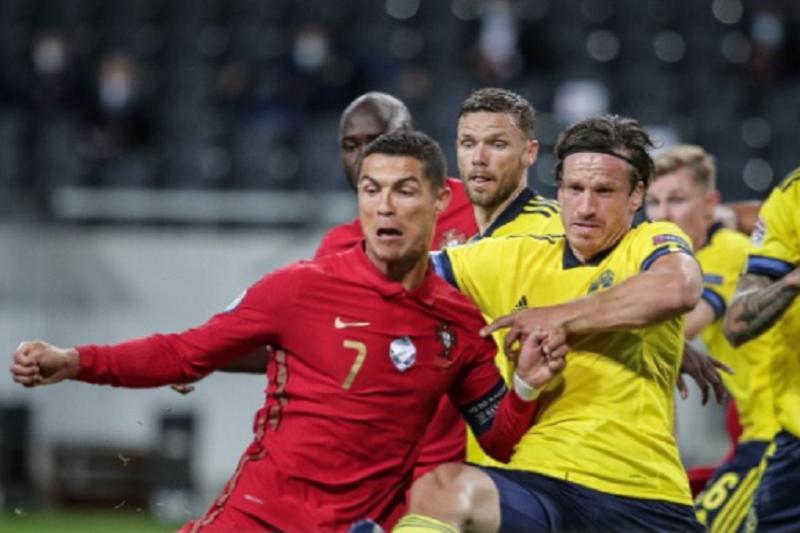 Liga das Nações: Portugal vence Suécia com 'bis' de Cristiano Ronaldo