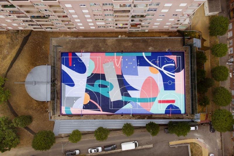 Braga alberga maior campo icónico de basquetebol de rua da Europa