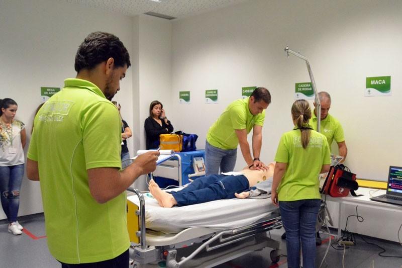 Hospital de Braga certificado para formação em suporte avançado de vida