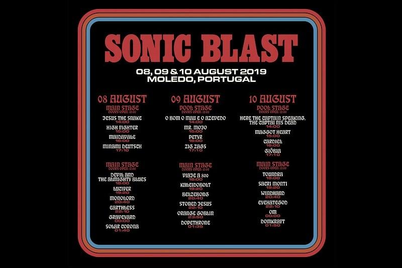 Sonic Blast arranca hoje 9.ª edição em Moledo com bilhetes esgotados
