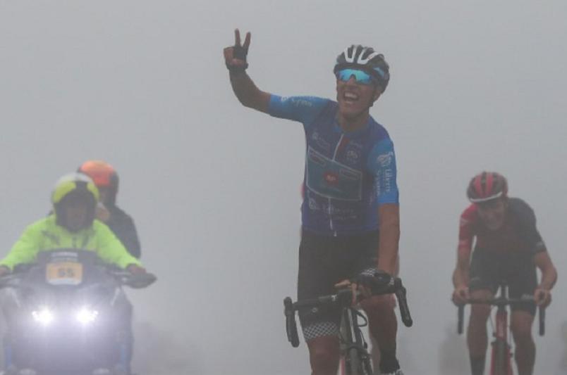 Jóni Brandão veste amarela no Larouco e Luís Gomes vence etapa da Volta a Portugal