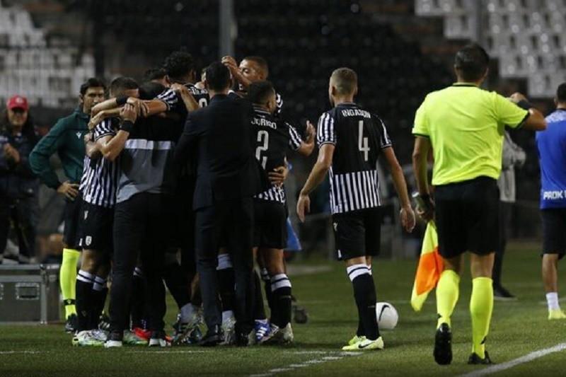 LC: Benfica perde com PAOK de Abel Ferreira e falha 'champions'
