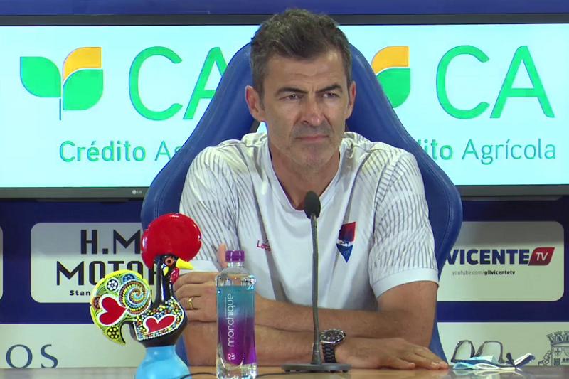 Covid-19: Técnico Rui Almeida diz que Gil Vicente pode defrontar Sporting