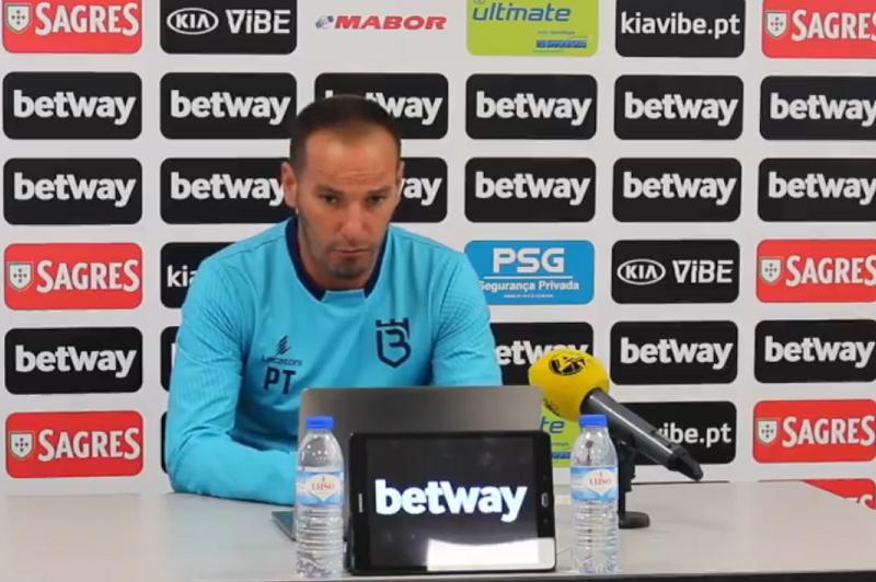 Petit afirma que Famalicão vale muito mais do que mostrou com o Benfica