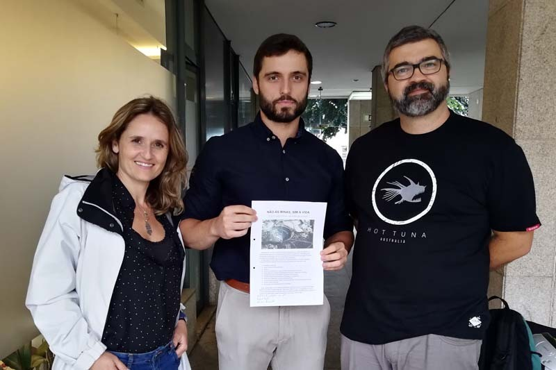 PAN apoia movimento contra exploração mineira de lítio