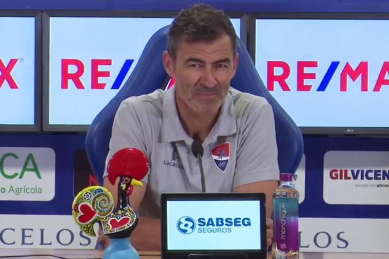 Rui Almeida promete Gil Vicente a fazer tudo para vencer Tondela