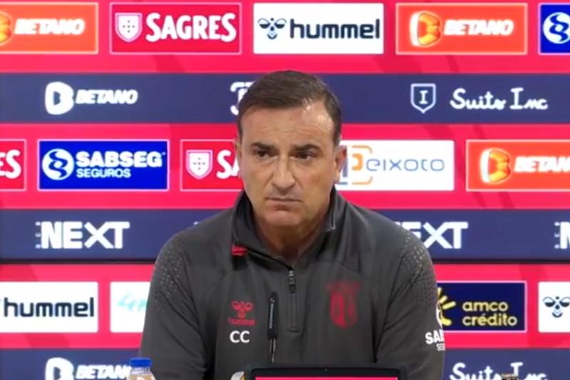 Carlos Carvalhal quer Braga ao 'melhor nível' para bater Torreense na Taça