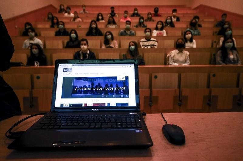 Reitor da UMinho dá as boas-vindas a mais de 3100 novos estudantes