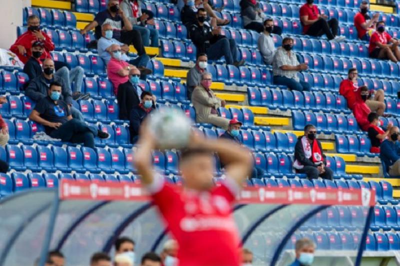 Santa Clara e Gil Vicente empatam no primeiro jogo da I Liga com público