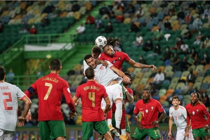 Portugal empata a zero com a Espanha em encontro particular