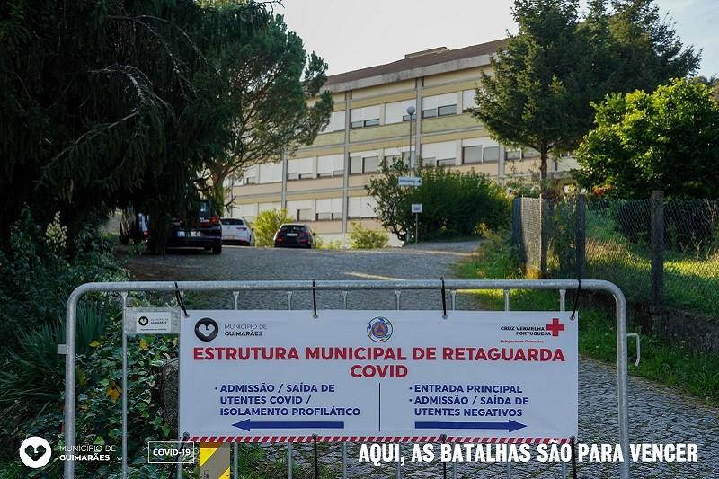 Covid-19: Câmara de Guimarães reativa estrutura de retaguarda no Seminário do Verbo Divino
