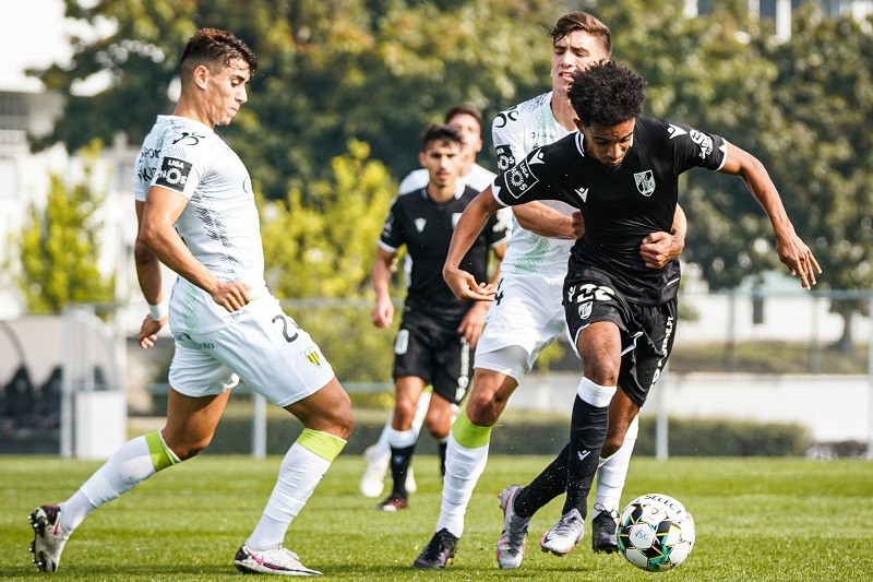 Vitória de Guimarães vence Tondela em jogo de treino
