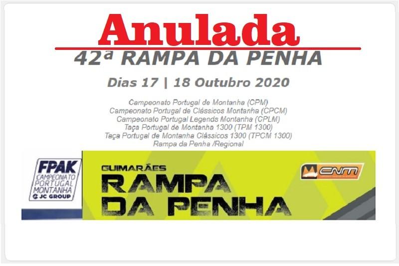 Covid-19: Rampa da Penha em automobilismo anulada devido a riscos pandémicos