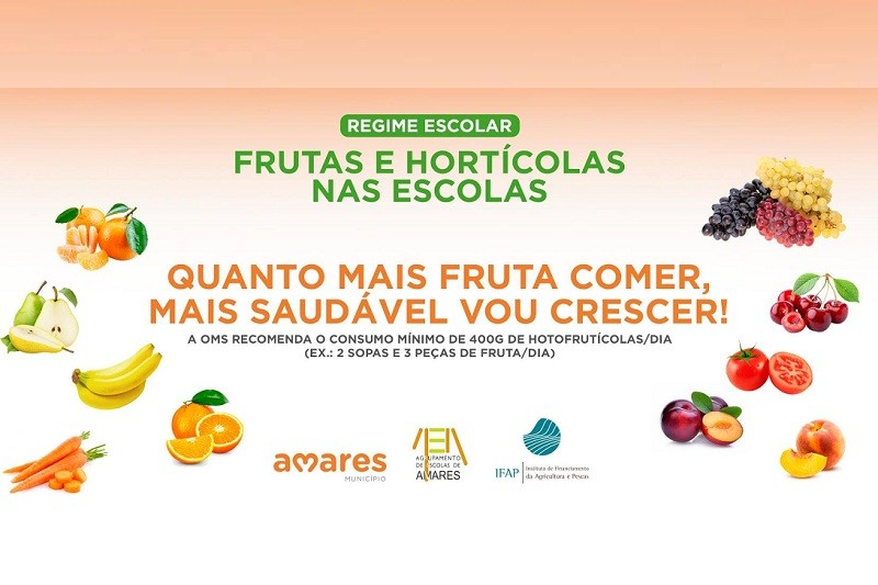 Amares: Câmara distribui fruta e hortícolas nas escolas