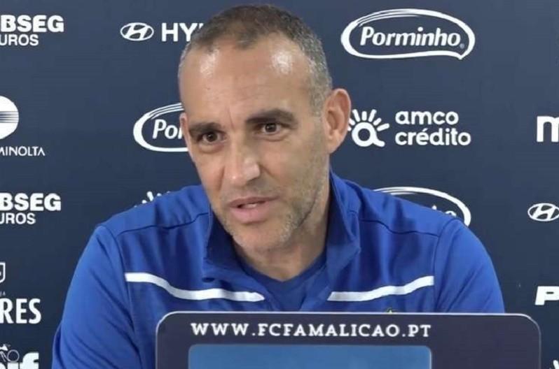 João Pedro Sousa diz que equipa do Famalicão