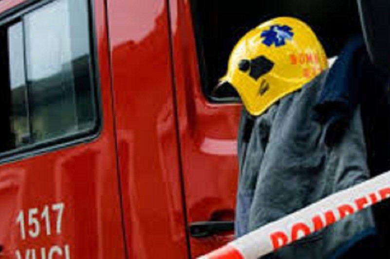 Incêndio consome parcialmente fábrica de polimentos em Guimarães