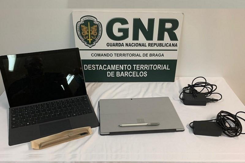 Esposende: GNR recupera material furtado em viaturas e identifica suspeito