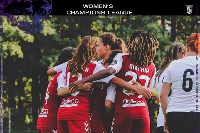 Sporting Clube de Braga fecha grupo da Champions feminina com goleada ao Rigas FS