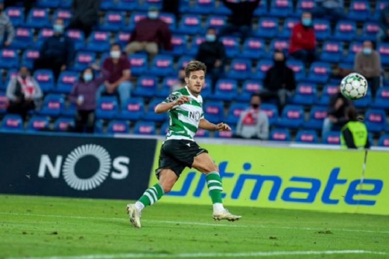 Sporting vence Santa Clara com 'bis' de Pedro Gonçalves e sobe a segundo na I Liga