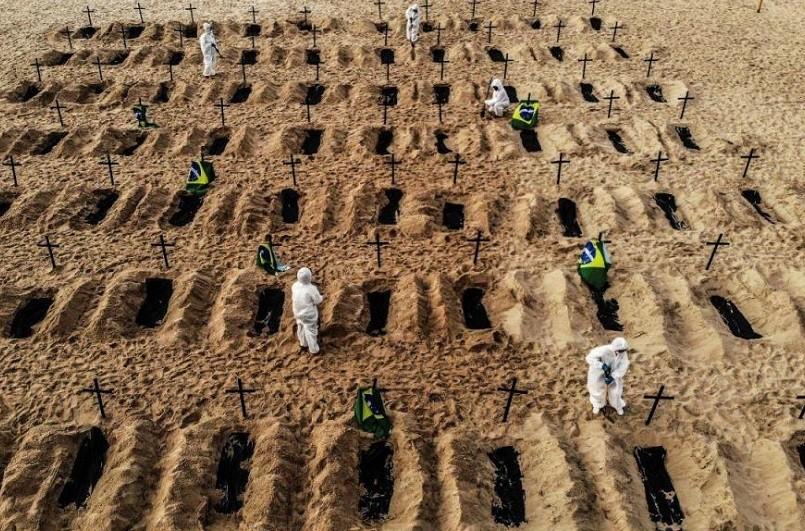 Covid-19: Pandemia já matou 1,16 milhões de pessoas no mundo - AFP