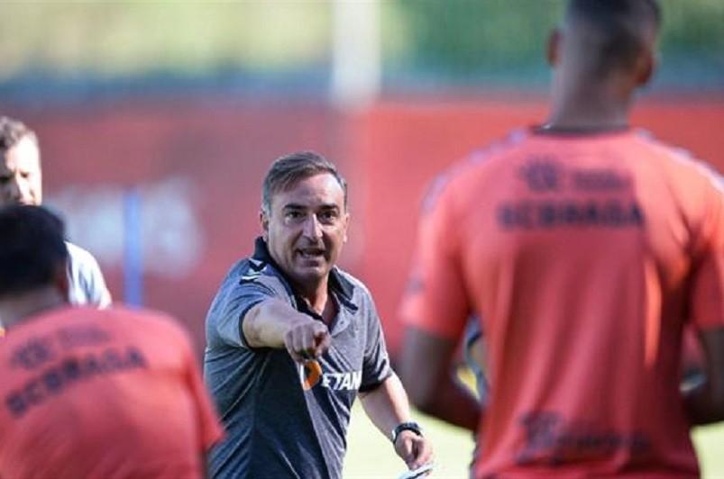 LE: Sporting de Braga leva 25 jogadores para jogo na Ucrânia com o Zorya