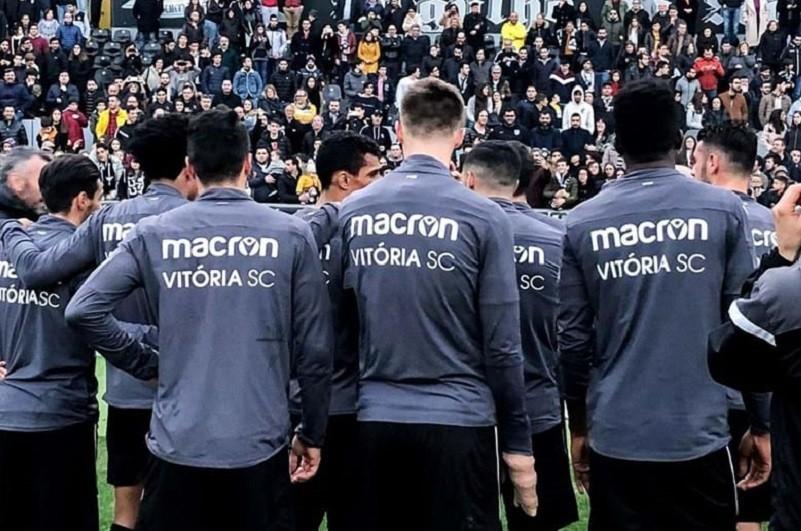 Covid-19: Três jogadores infetados no Guimarães recuperam e voltam aos treinos
