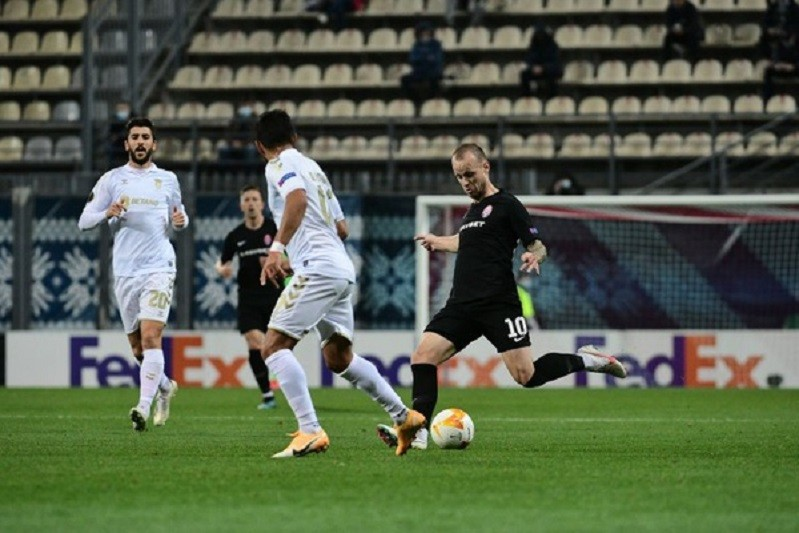 Sporting de Braga vence Zorya e vê 16 avos da Liga Europa mais próximos