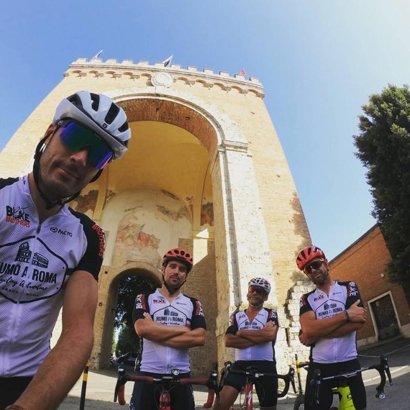 Rumo A Roma - Cycling Adventure conquistou Vaticano em 17 dias