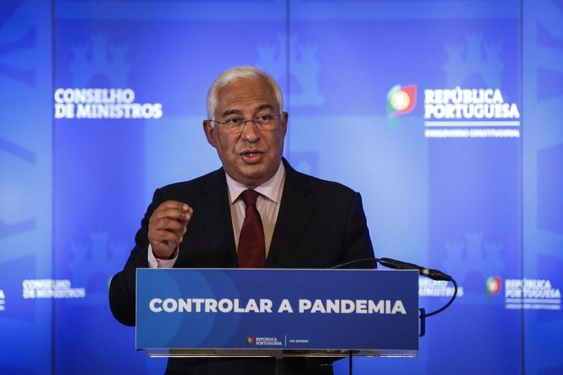 Covid-19: Costa solicita audiência ao PR para eventual estado de emergência nos concelhos mais atingidos