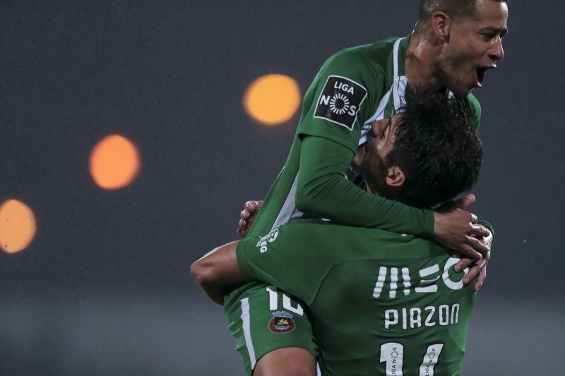 'Bis' de Piazón permite vitória do Rio Ave sobre o Moreirense