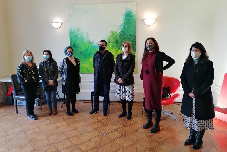 Marisa Matias em encontro sobre violência em Braga