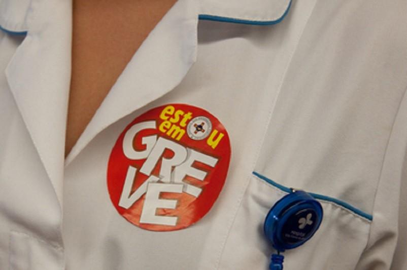 Enfermeiros iniciam hoje greve de cinco dias