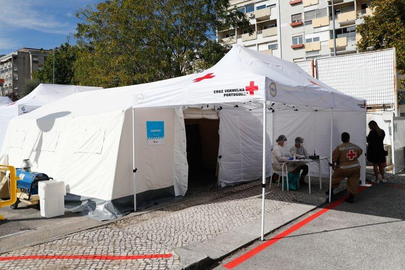 Covid-19: Cruz Vermelha sensibiliza para importância de testes