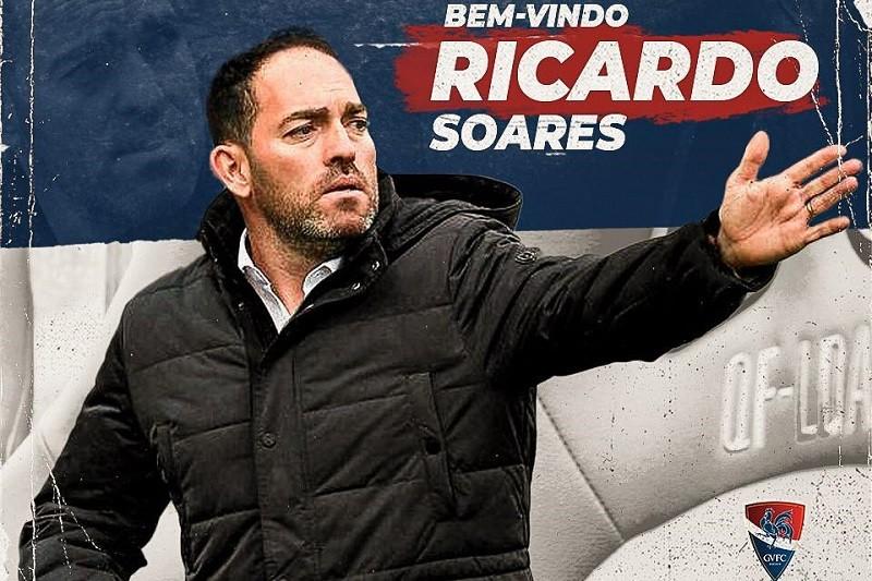 Ricardo Soares substitui Rui Almeida no comando técnico do Gil Vicente