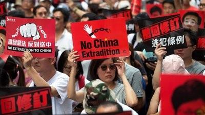 Milhares no parque Vitória para novo protesto em Hong Kong