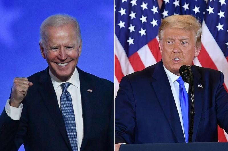 EUA/Eleições: Biden vence com 306 grandes eleitores e Trump com 232  media