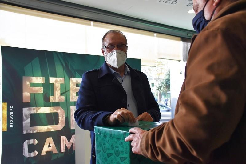 António Silva Campos reeleito com votação recorde quer Rio Ave a 'conquistar uma taça'